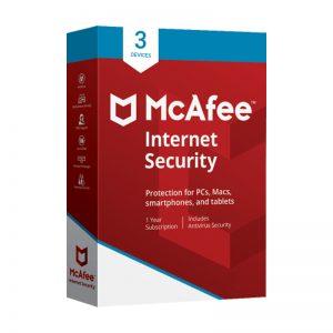 McAfee internet antivirus 3 devices